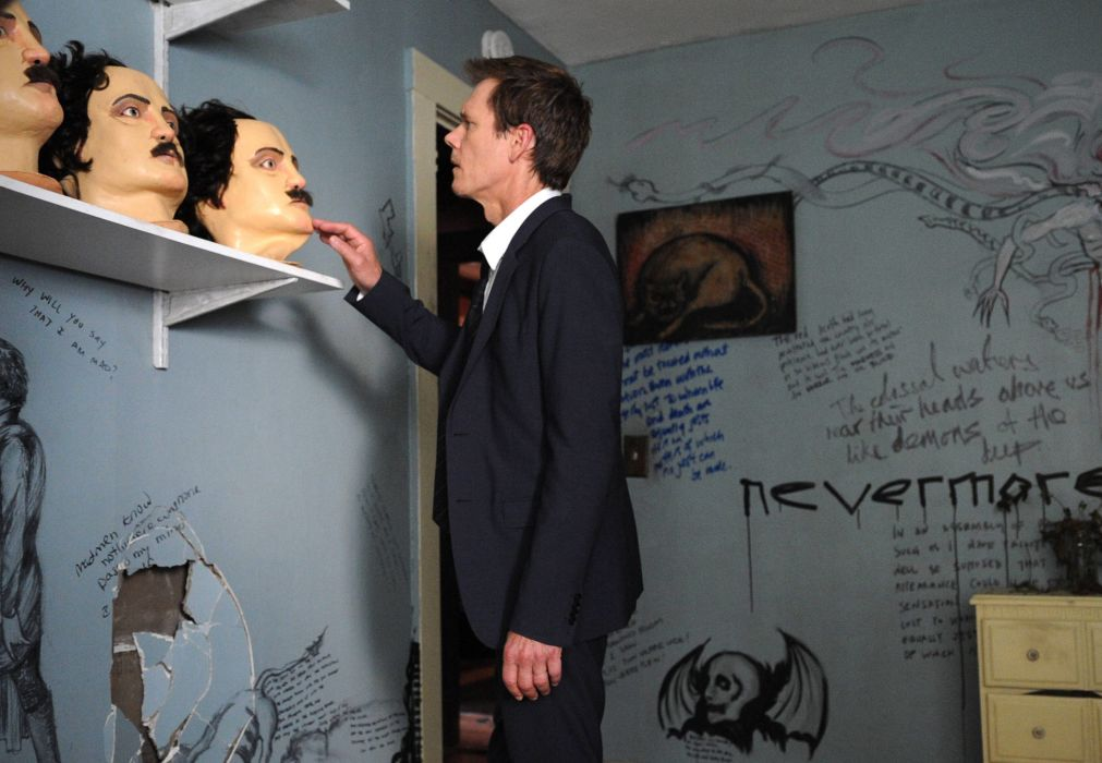 THE-FOLLOWING drama television following mask   gd wallpaper