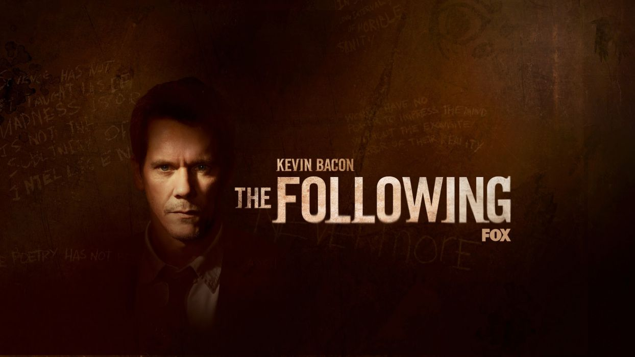 THE-FOLLOWING drama television following poster      g wallpaper