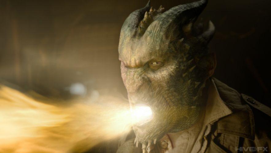 GRIMM supernatural drama horror fantasy television monster fire dark f wallpaper