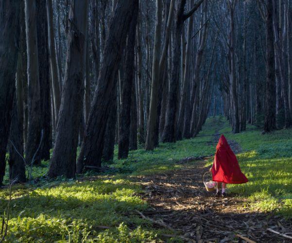 GRIMM supernatural drama horror fantasy television forest mood child children forest wallpaper