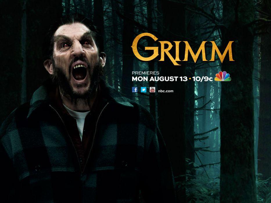 GRIMM supernatural drama horror fantasy television poster   hf wallpaper