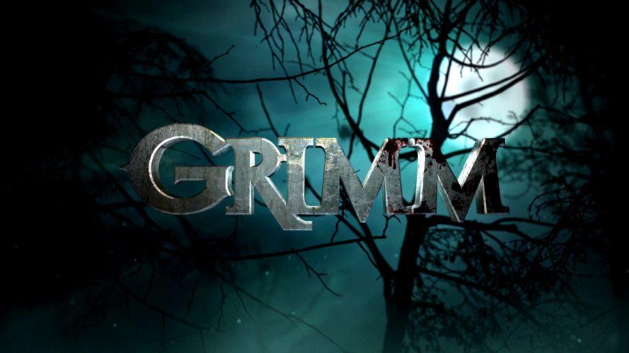 GRIMM supernatural drama horror fantasy television poster blood dark hr wallpaper