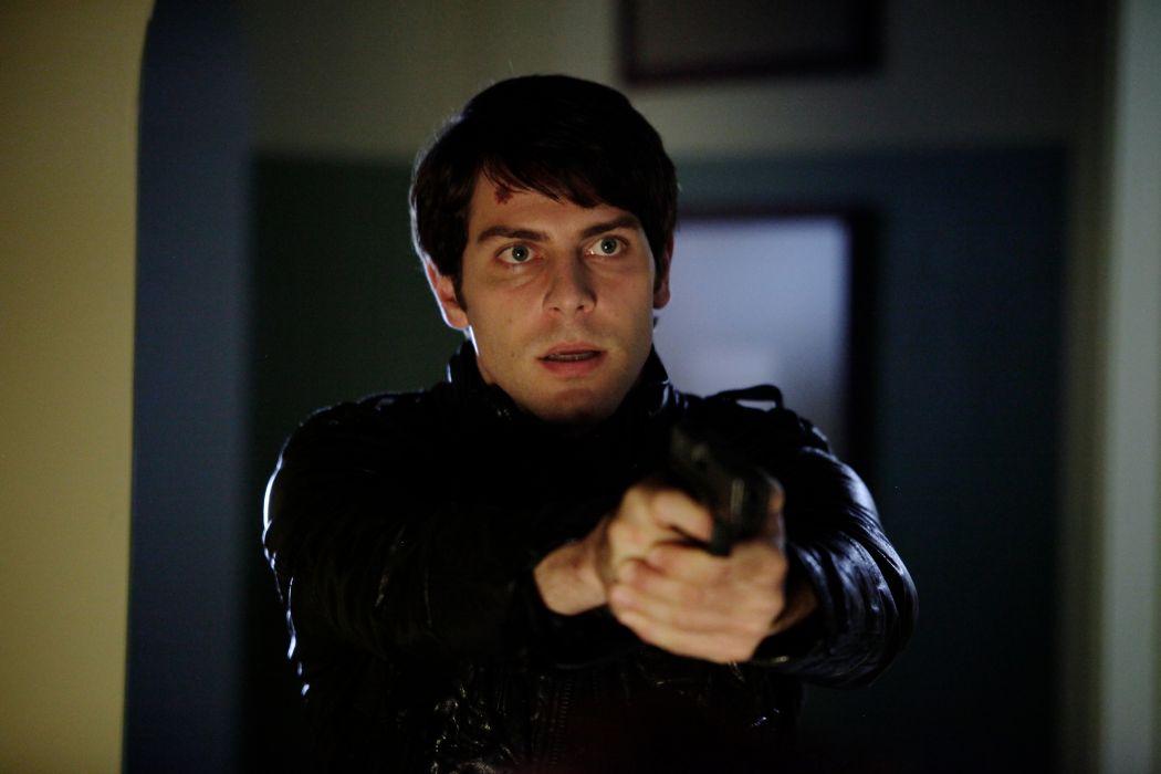 GRIMM supernatural drama horror fantasy television weapon gun pistol    f wallpaper