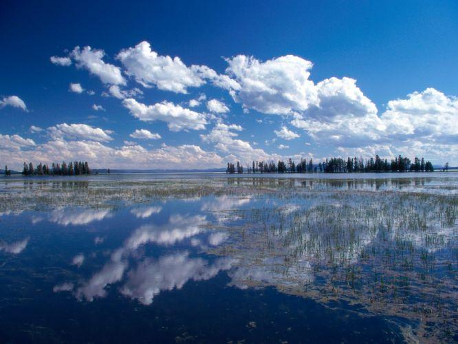 clouds nature wallpaper
