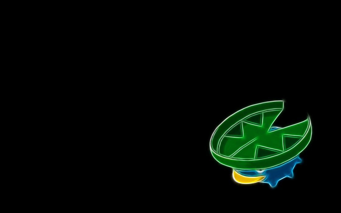 Pokemon black background Lotad wallpaper