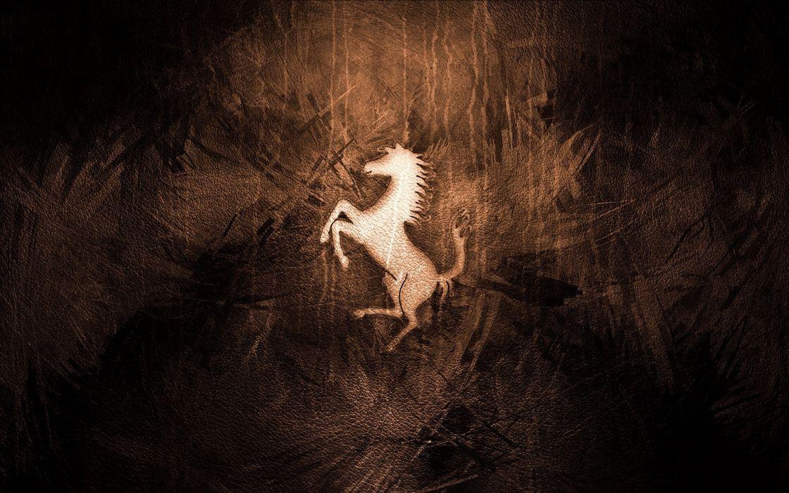 horses emblems wallpaper