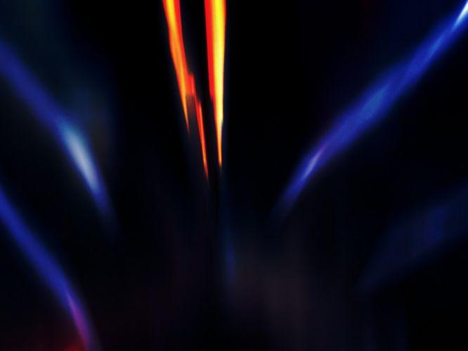 abstract blue dark room travel simple wallpaper