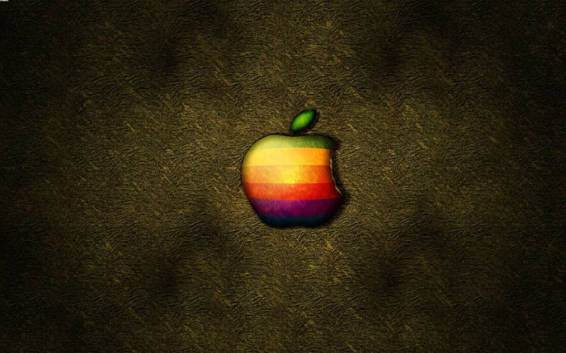 Apple Inc_ logos wallpaper