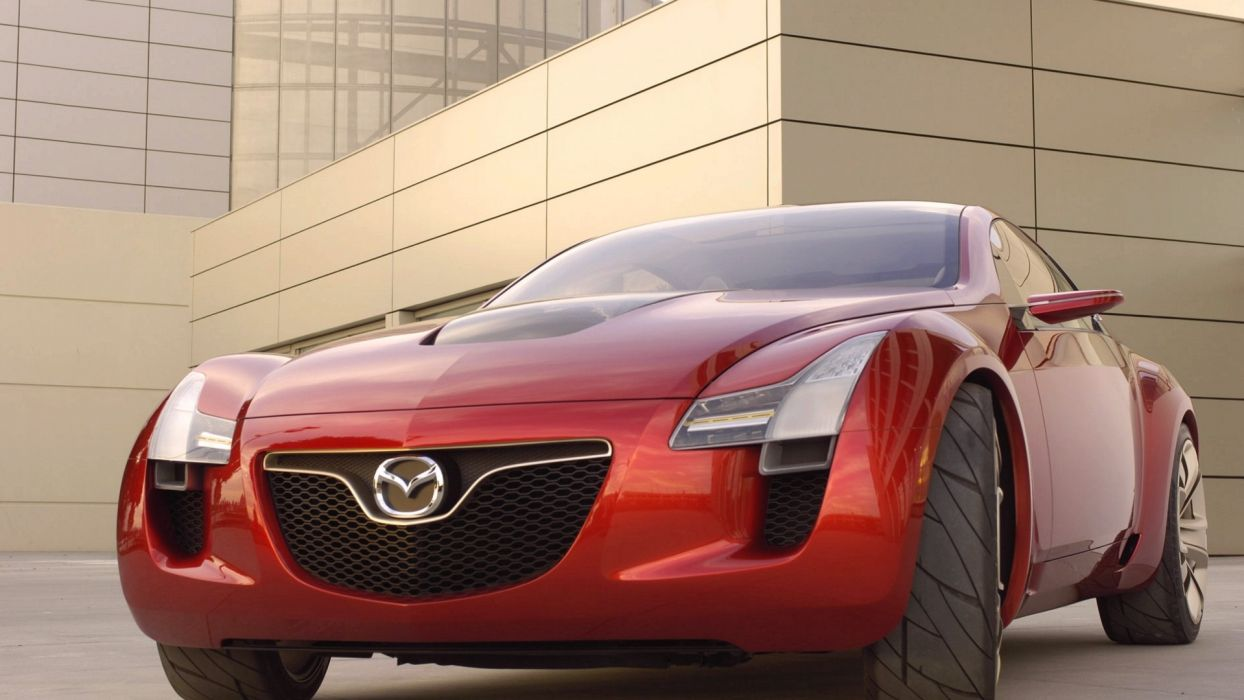 cars Mazda vehicles red cars wallpaper