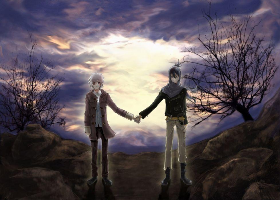 clouds anime anime boys Nezumi shounen-ai No_ 6 Shion (No_6) wallpaper
