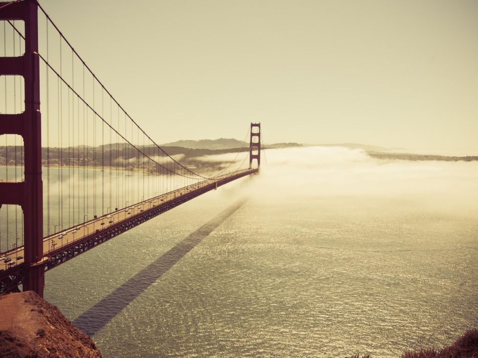 nature cityscapes bridges Golden Gate Bridge San Francisco wallpaper