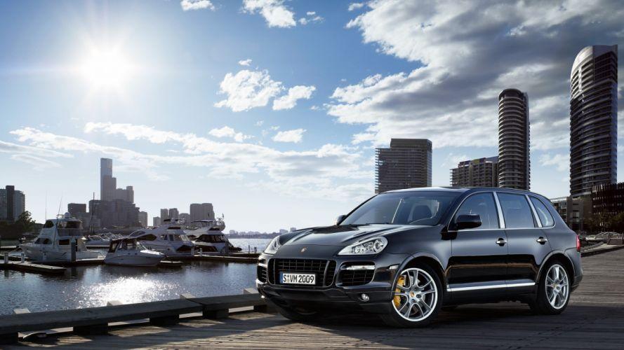 cars vehicles wheels Porsche Cayenne automobiles wallpaper