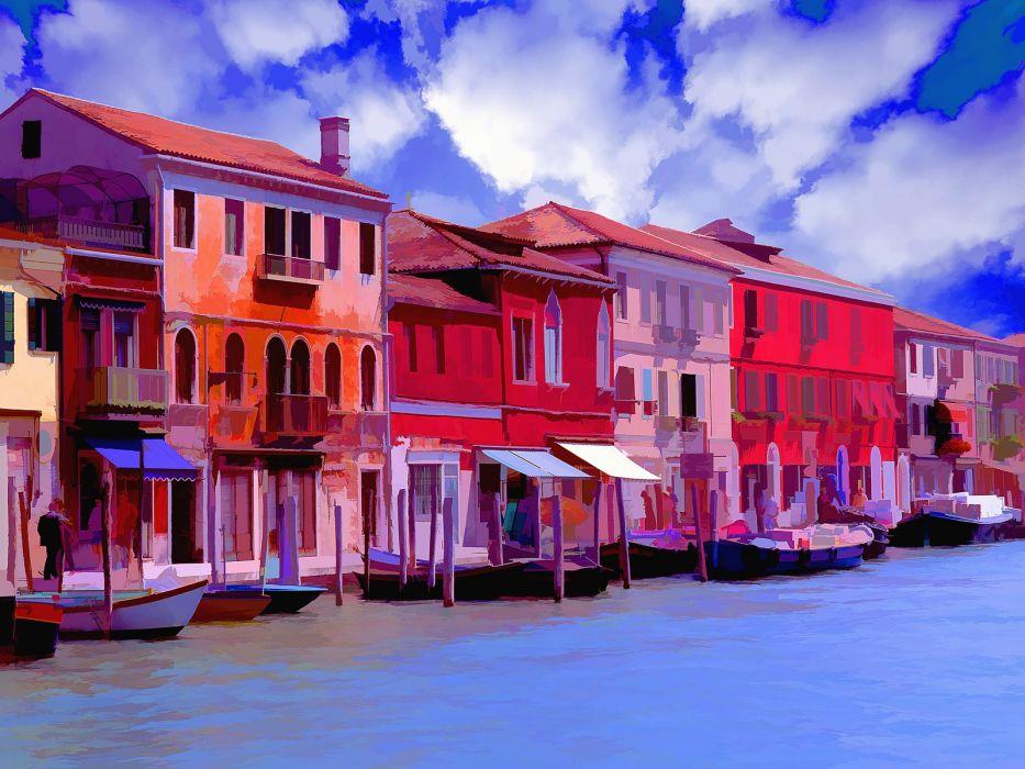 Venice Italy colors wallpaper