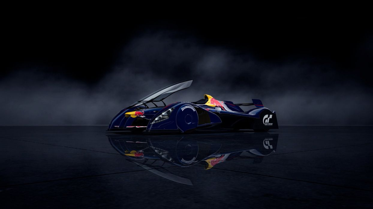 video games cars Gran Turismo 5 Red Bull X1 Playstation 3 wallpaper