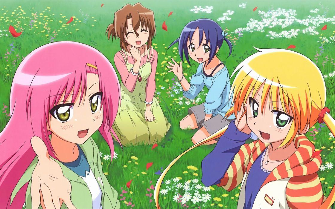 Hayate no Gotoku Katsura Hinagiku Sanzenin Nagi Nishizawa Ayumu anime girls wallpaper