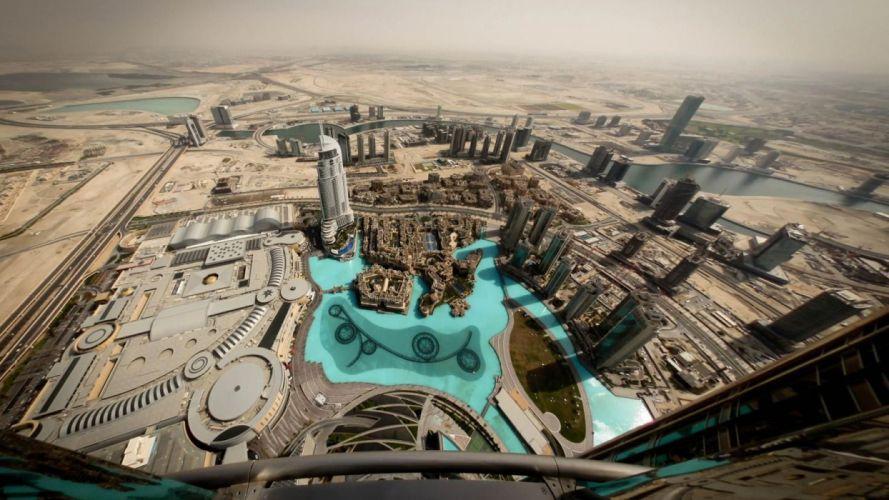deserts buildings Dubai cities sight skyline UAE wallpaper