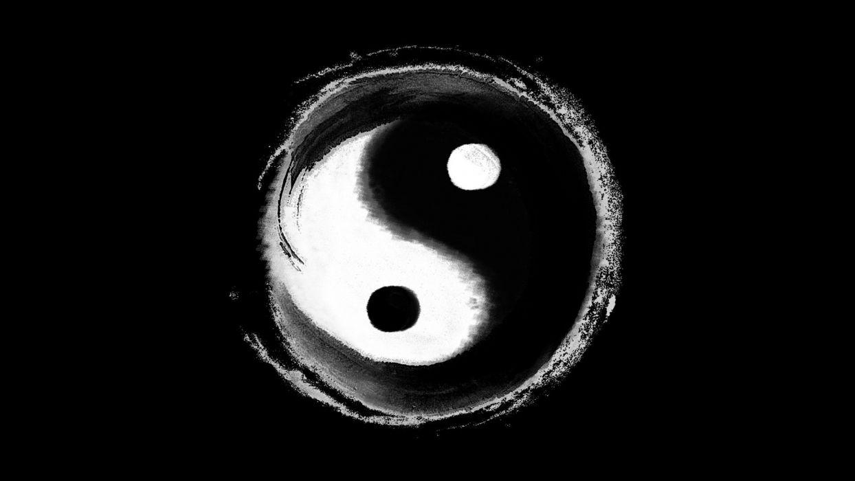 China yin yang wallpaper