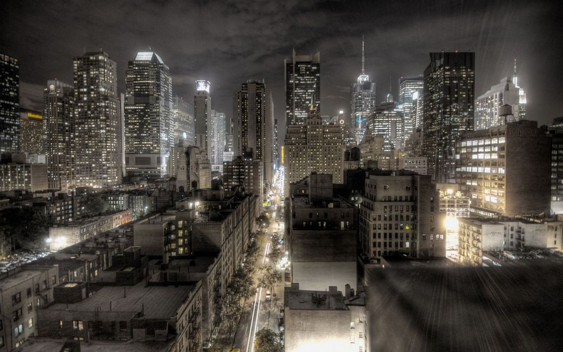 cityscapes architecture buildings city lights wallpaper