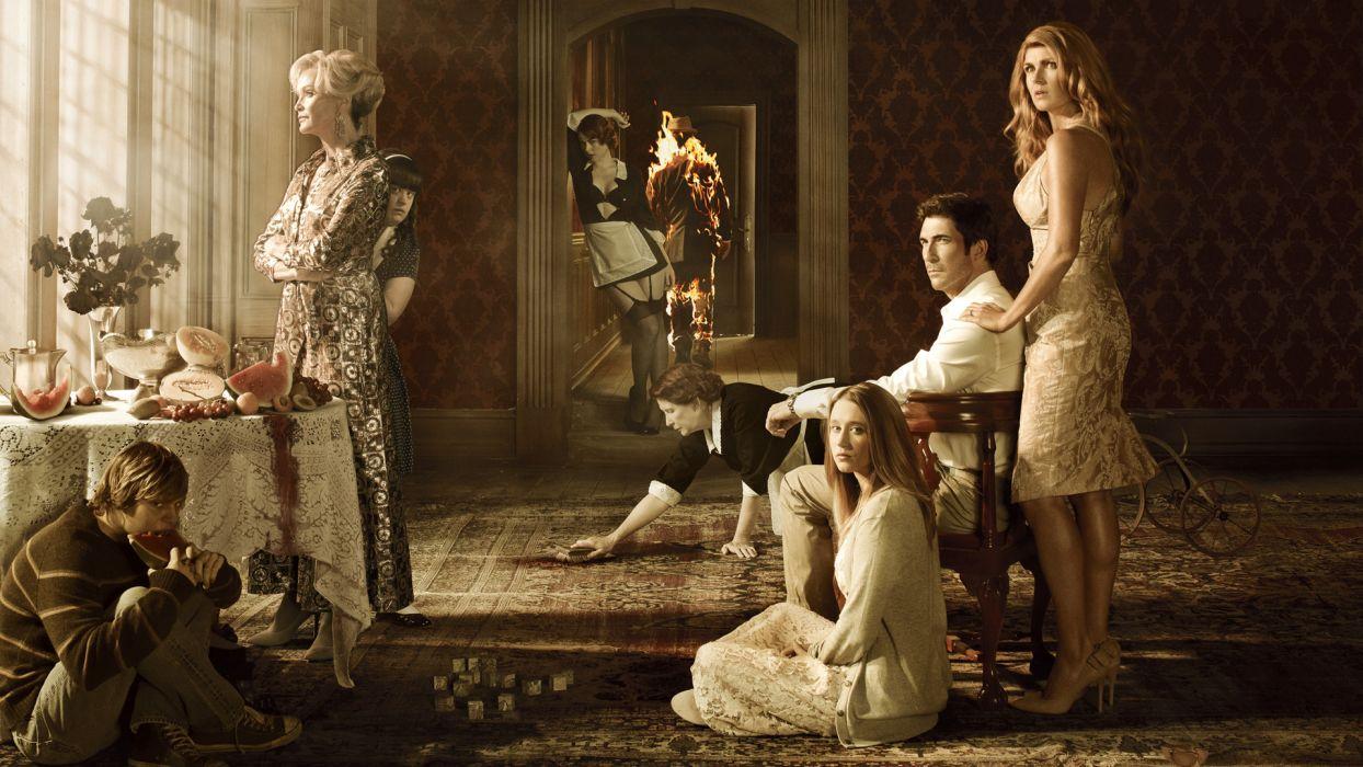 AMERICAN-HORROR-STORY horror thriller erotic american story   g wallpaper