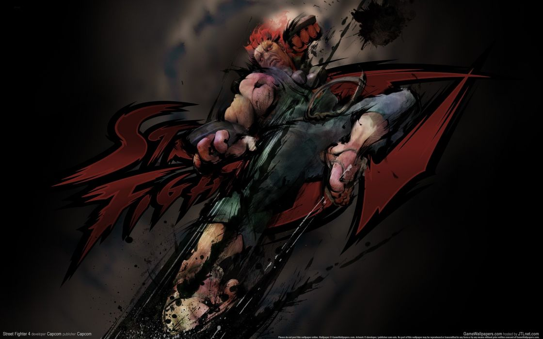 video games Street Fighter IV Akuma wallpaper