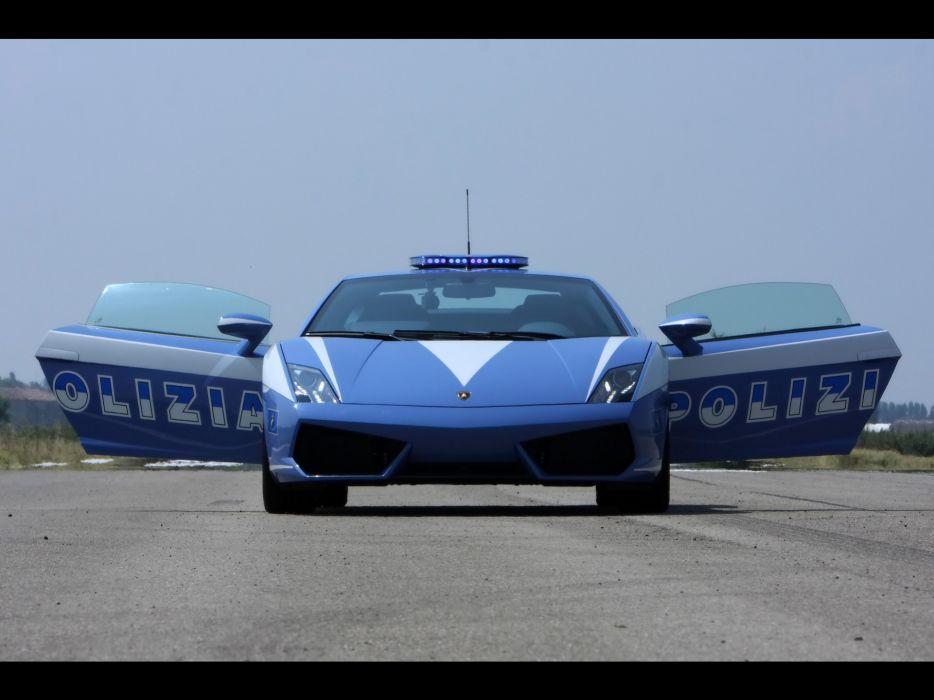 cars police Lamborghini vehicles Lamborghini Murcielago Lamborghini Gallardo italian cars wallpaper