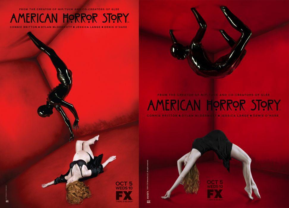 AMERICAN-HORROR-STORY horror thriller erotic american story poster   b wallpaper