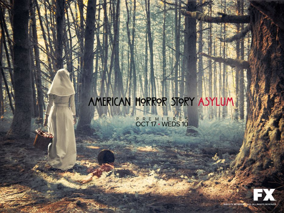 AMERICAN-HORROR-STORY horror thriller erotic american story poster   h wallpaper