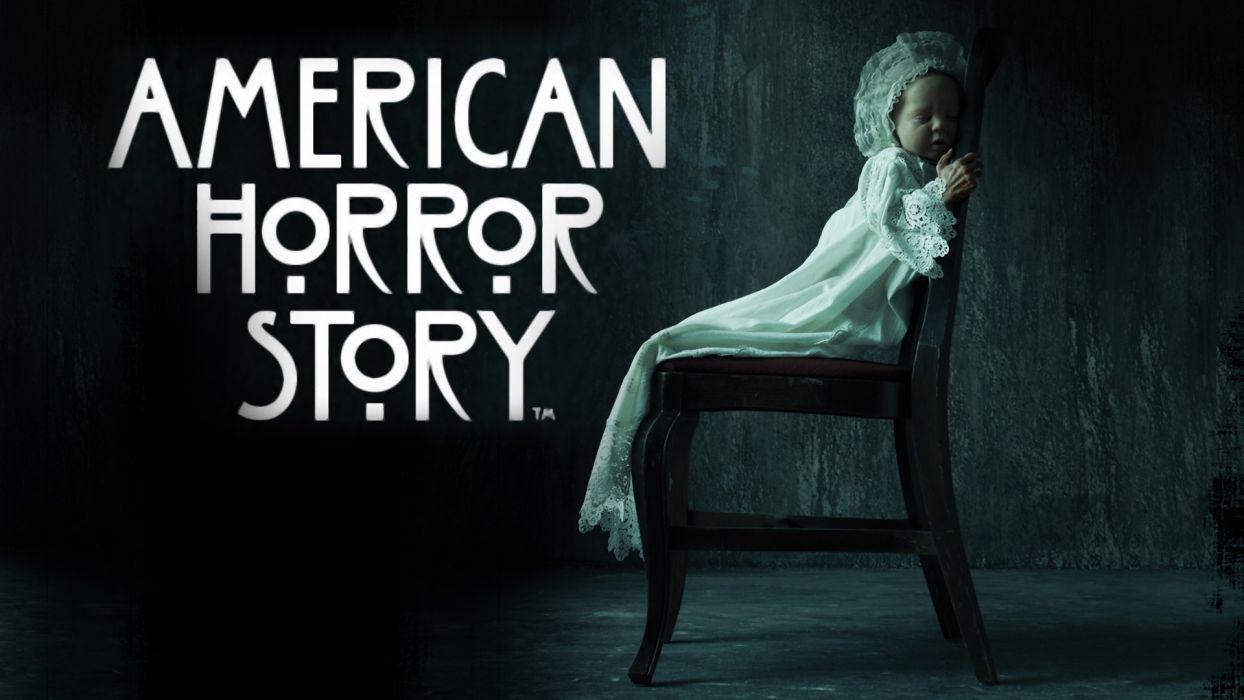 AMERICAN-HORROR-STORY horror thriller erotic american story poster baby   g wallpaper