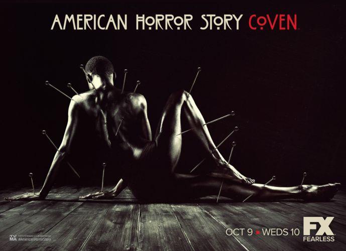AMERICAN-HORROR-STORY horror thriller erotic american story poster dark evil r wallpaper