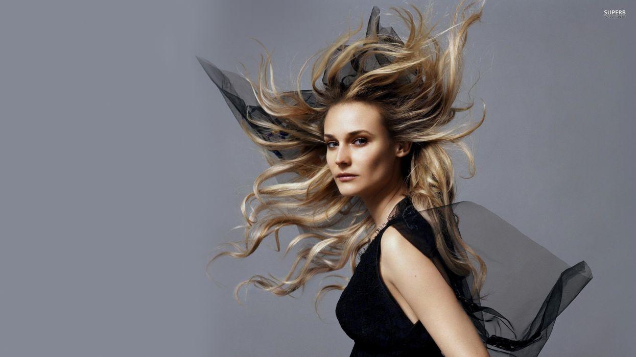 women Diane Kruger wallpaper