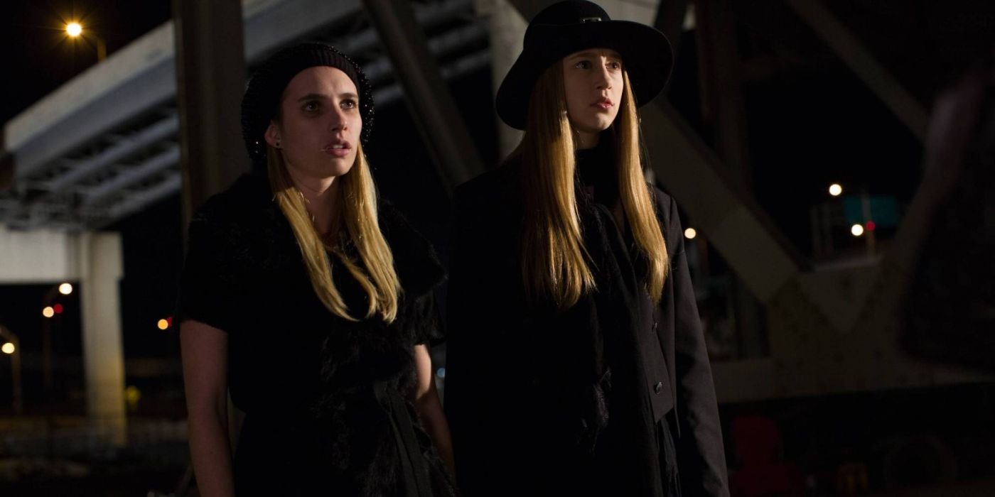 AMERICAN-HORROR-STORY horror thriller erotic american story witch y wallpaper