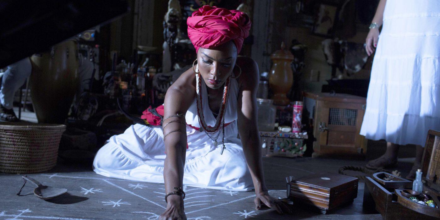 AMERICAN-HORROR-STORY horror thriller erotic american story voodoo witch dark   h wallpaper