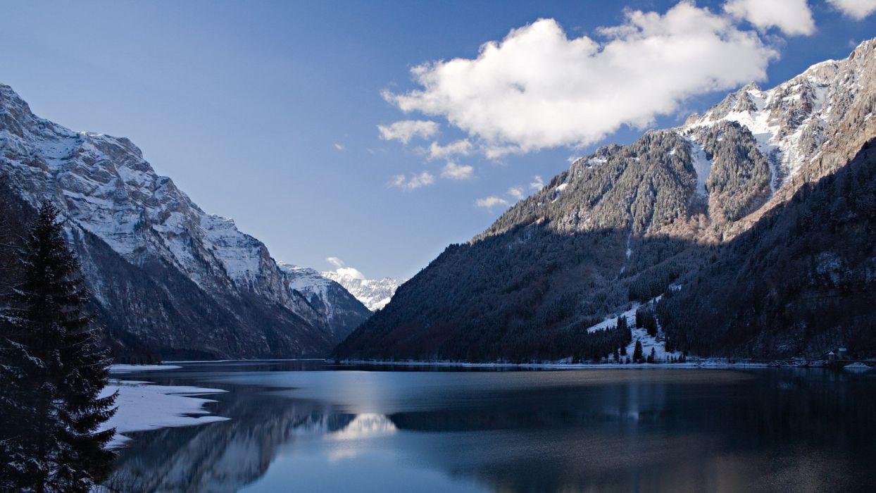 mountains nature Switzerland wallpaper