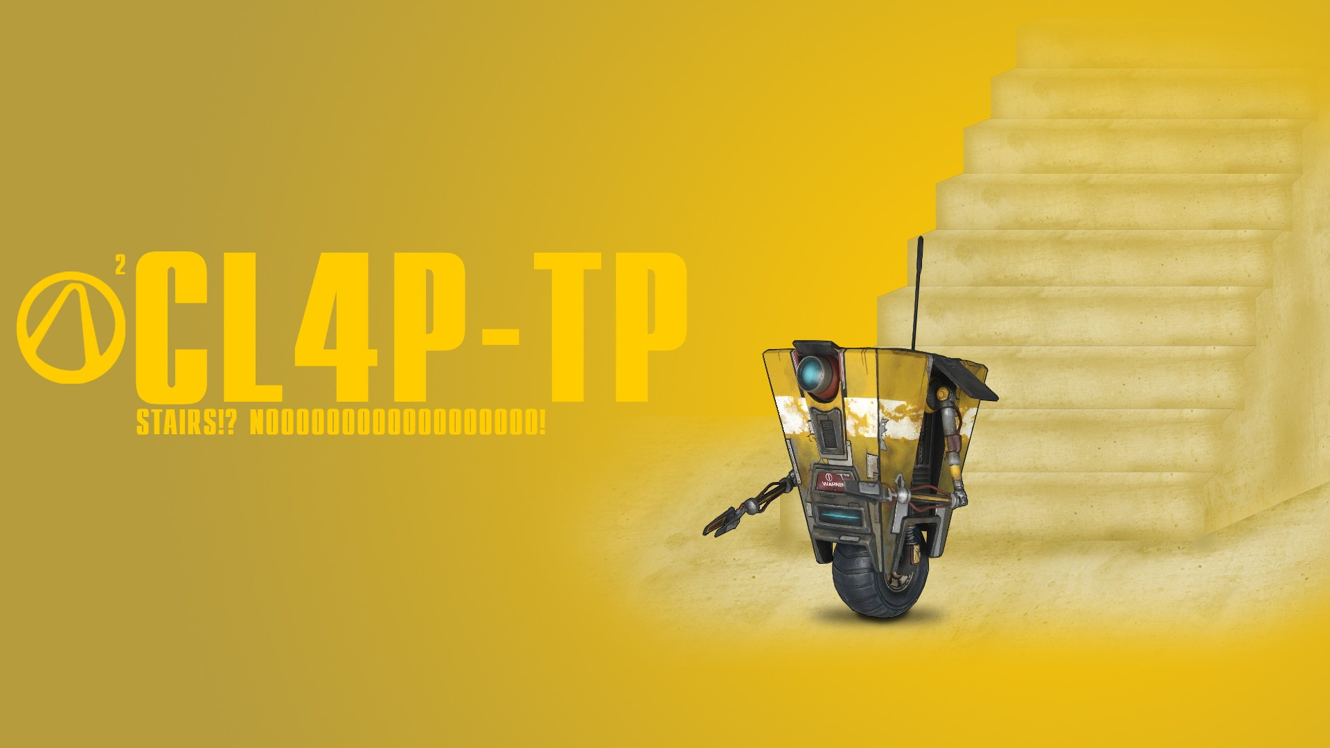 Video games Borderlands claptrap wallpaper | 1920x1080 ...