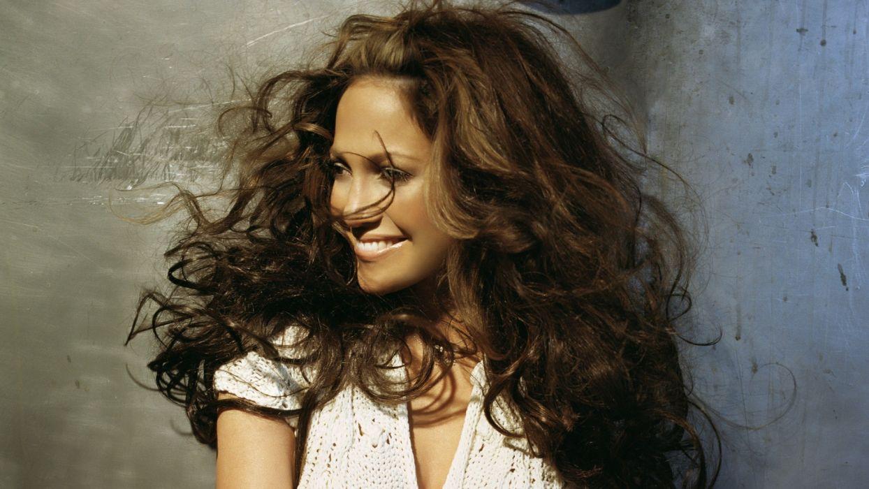 brunettes women celebrity brown eyes Jennifer Lopez wallpaper