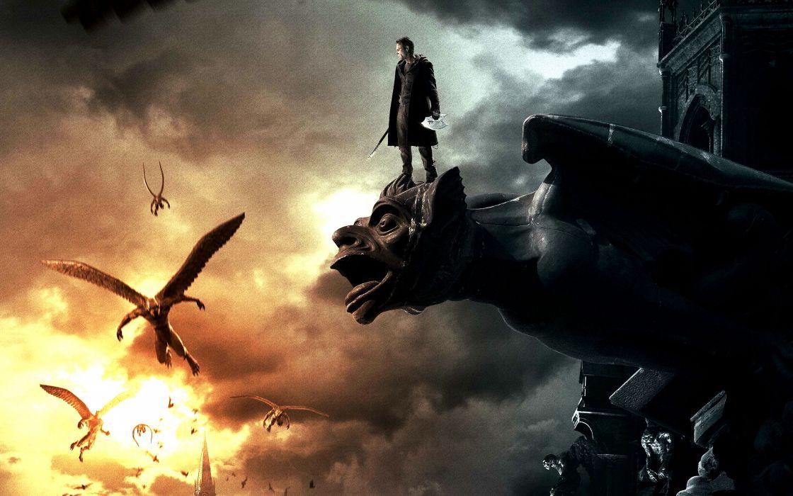 I-FRANKENSTEIN horror action dark frankenstein movie fantasy monster demon   fs     fs wallpaper