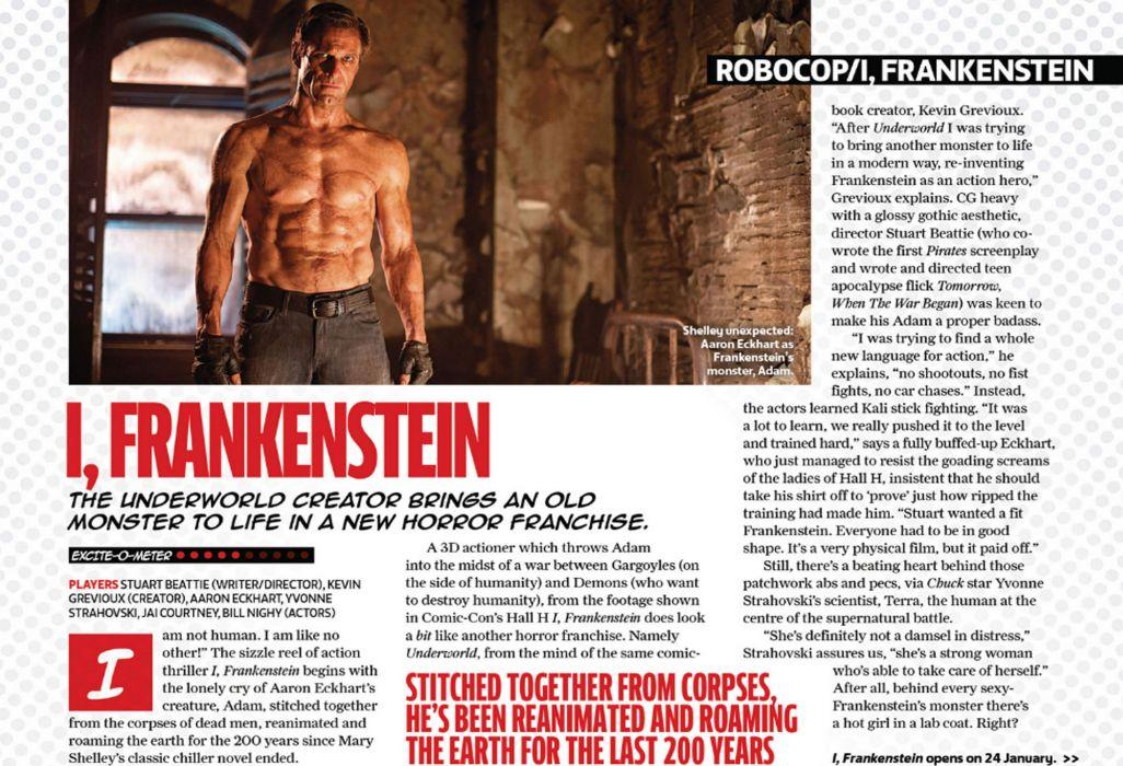I-FRANKENSTEIN horror action dark frankenstein movie sci-fi fantasy poster    g wallpaper