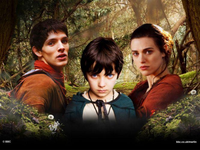MERLIN family drama fantasy adventure television fd wallpaper