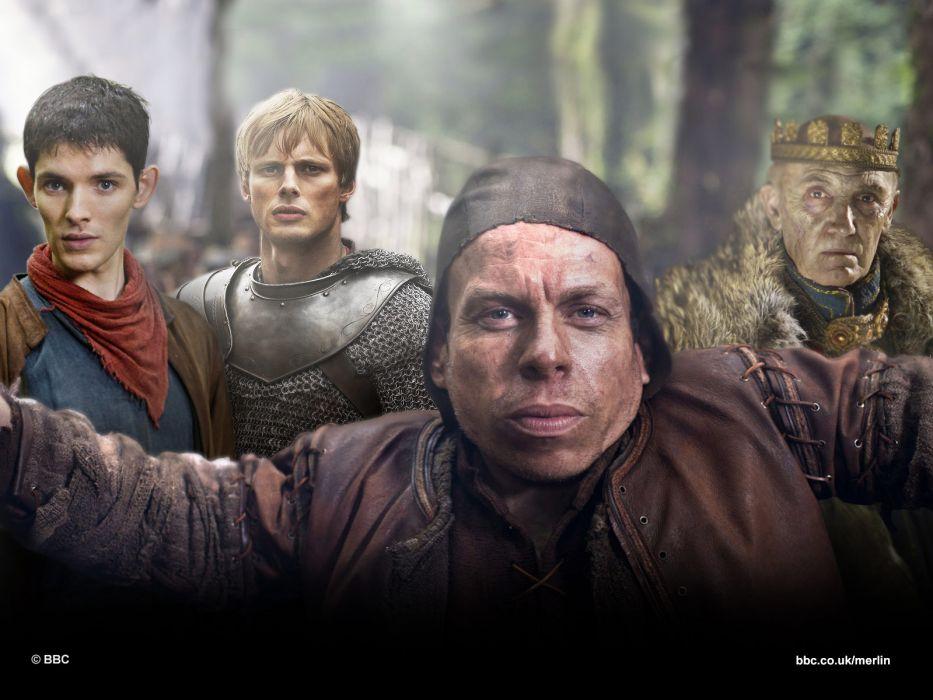 MERLIN family drama fantasy adventure television  e wallpaper