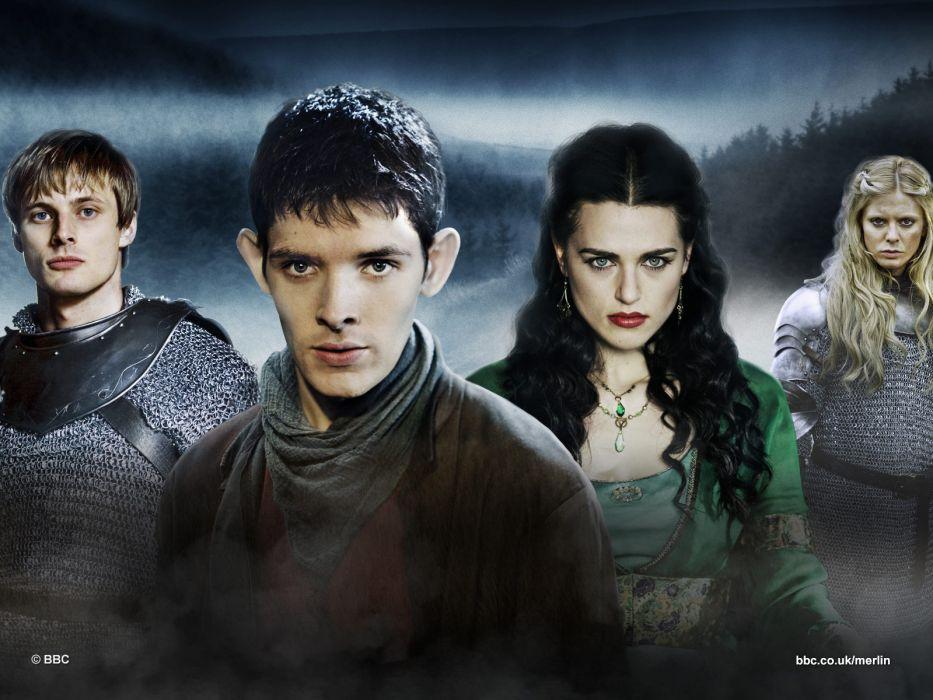 MERLIN family drama fantasy adventure television  f wallpaper