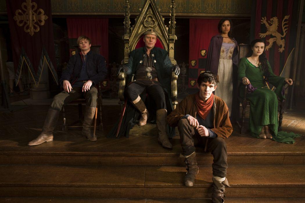 MERLIN family drama fantasy adventure television  rl wallpaper