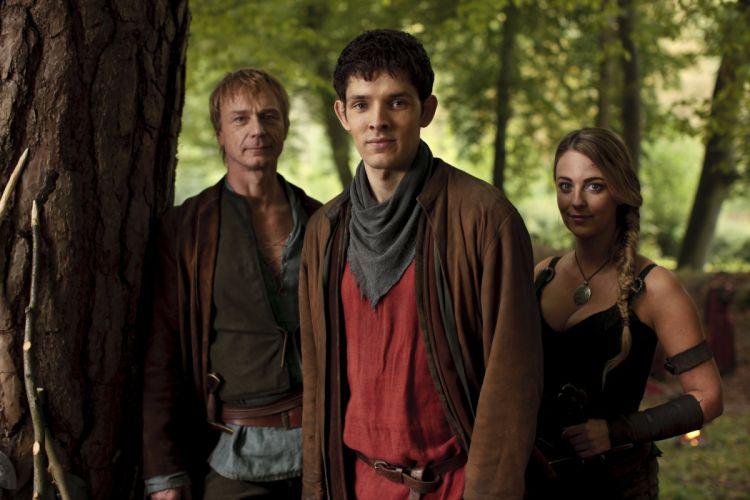 MERLIN family drama fantasy adventure television y wallpaper