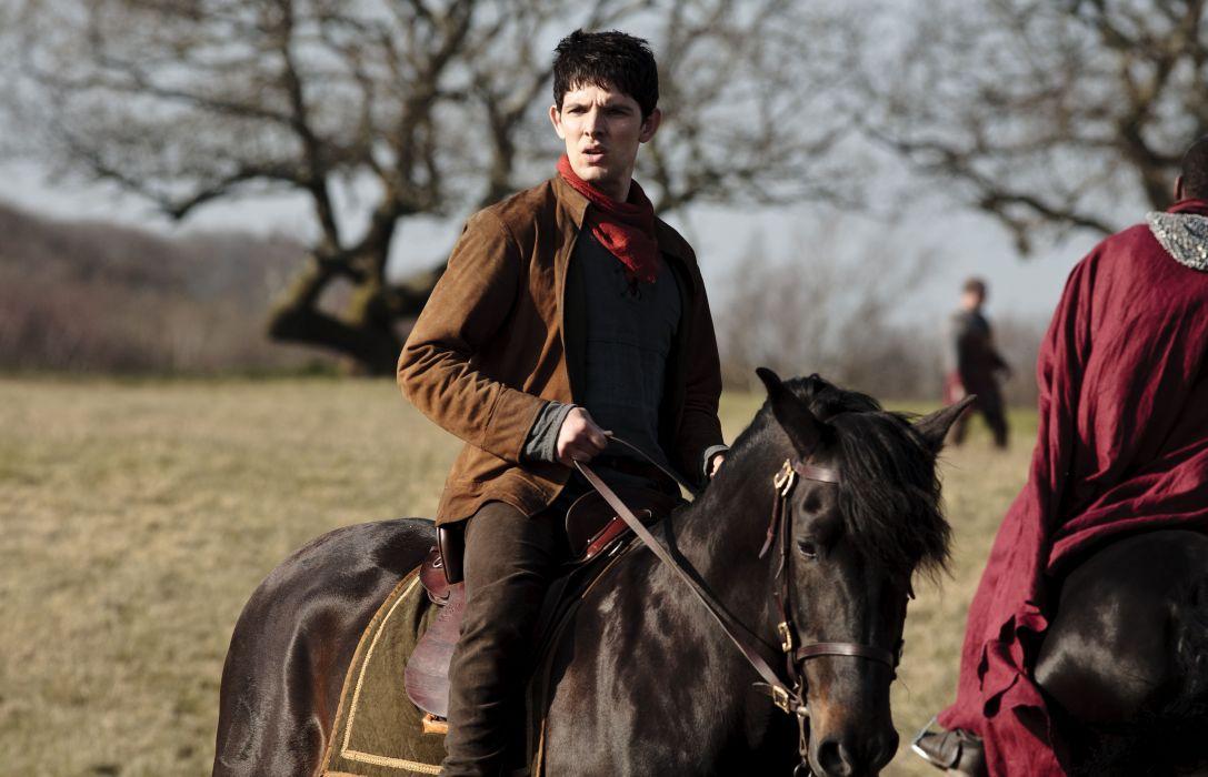 MERLIN family drama fantasy adventure television horse      g wallpaper