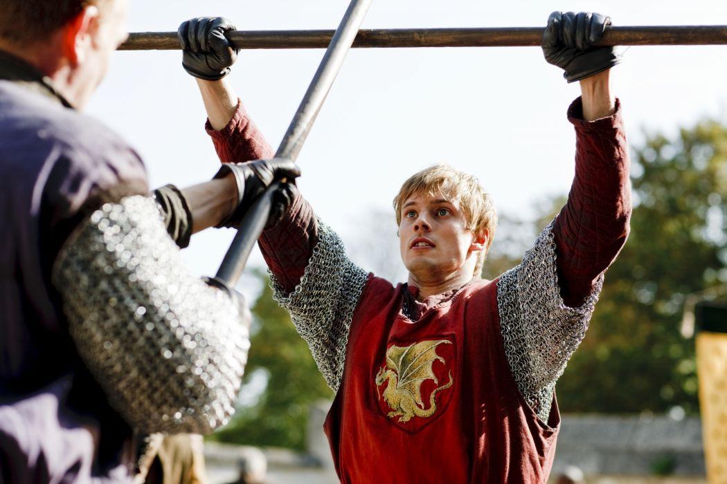 MERLIN family drama fantasy adventure television warrior armor   g wallpaper