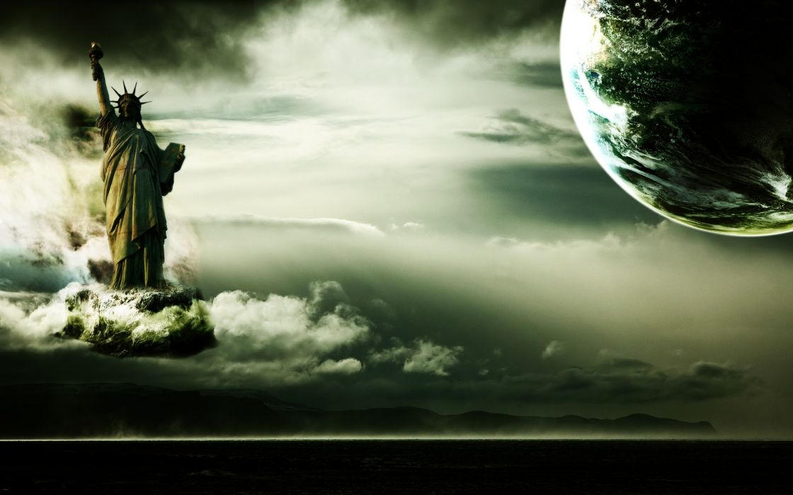 dark Earth wallpaper