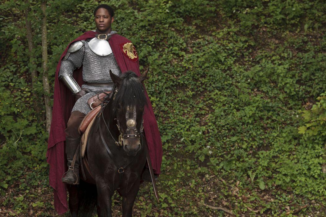 MERLIN family drama fantasy adventure television warrior armor knight horse   g wallpaper