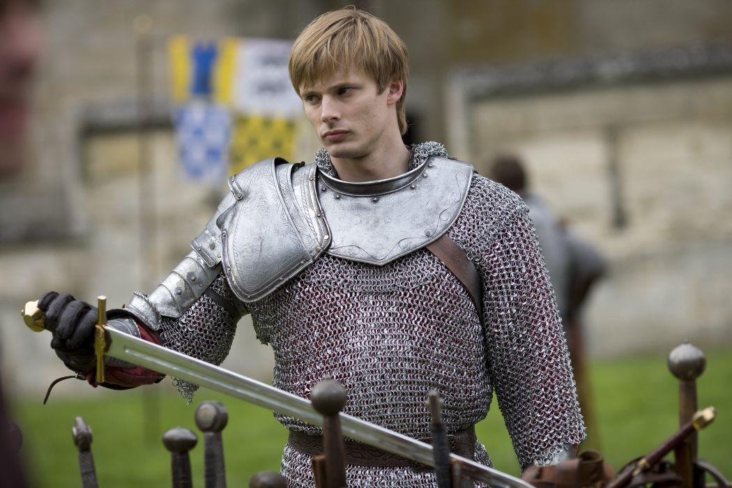 MERLIN family drama fantasy adventure television warrior armor sword  h wallpaper