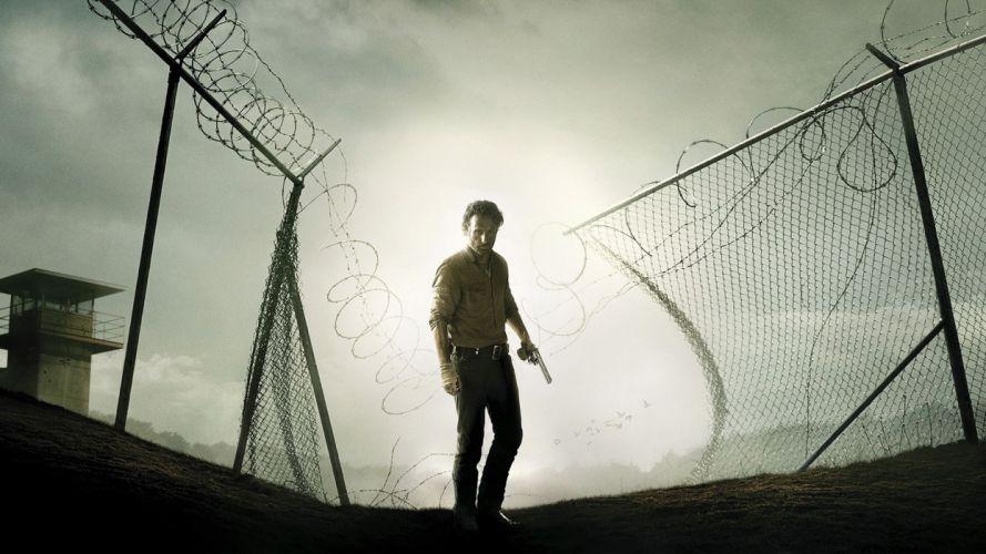 THE WALKING DEAD horror drama f wallpaper