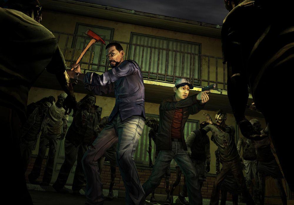 THE WALKING DEAD horror drama dark zombie    g wallpaper