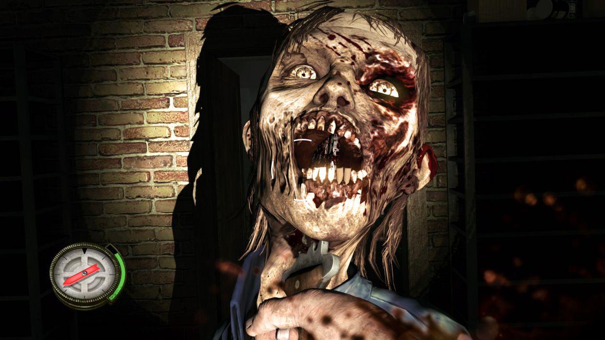 THE WALKING DEAD horror drama dark zombie    y wallpaper